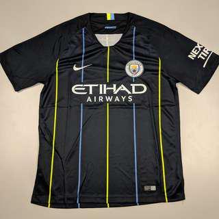 (INSTOCK) Manchester City 1819 DARK BLUE jersey
