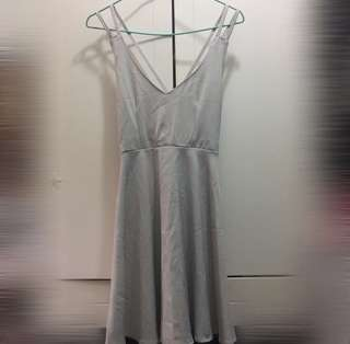 Sexy grey dress / party dress 性感灰色連身裙