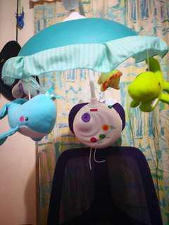 8成新fisher-price嬰兒投射影機