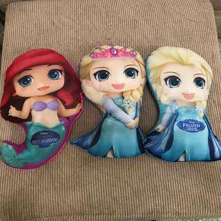 Frozen: Elsa & Ariel Pillow