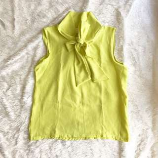 Avenue lime top