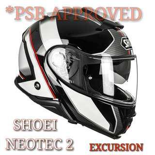 SHOEI NEOTEC 2 EXCURSION TC 6