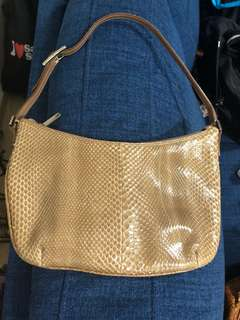Authentic Gucci snake skin handbag