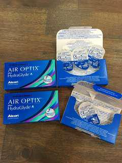 Alcon Air Optix HydraGlyde Contact Lens Monthly