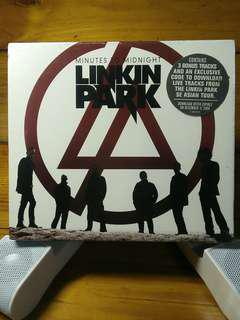 LINKIN PARK Minutes to Midnight RARE. (with red design)