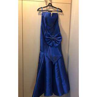 👗: (FOR RENT) Blue Evening Gown For Performance // Events // D&D // Prom Night // Bridesmaid