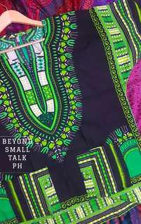 Unisex oversized dashiki batik