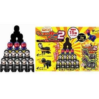 Masked Kamen Rider Shocker Mania 2 Plex【日版】幪面超人 吱吱兵 嘰嘰兵 層層疊  @KAZOEshop
