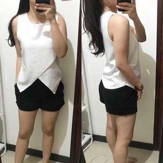 White bkk top