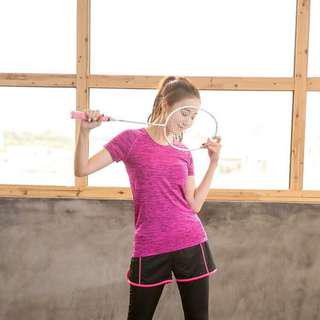Fitness and Yoga Top in PINK