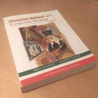 Financial Markets and Corporate Strategy - 2nd Ed.