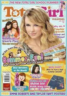 Total Girl magazine April 2009 Taylor Swift