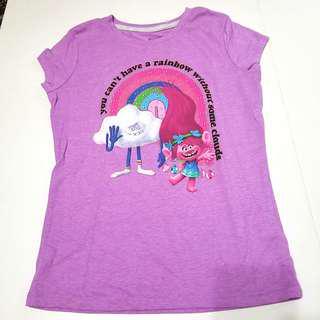 Dreamworks Trolls Girl's Short Sleeves T-Shirt