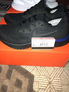 NIKE EPIC REACT TRIPLE BLACK SIZE 10