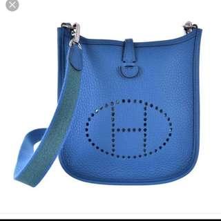 Hermes Evelyn crossbody bag