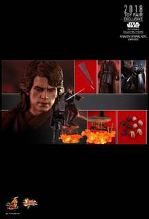 Hottoys 會場限定版 DX MMS486 Star Wars星球大戰入魔 ANAKIN SKYWALKER Dark Side Figure 玩具狂熱