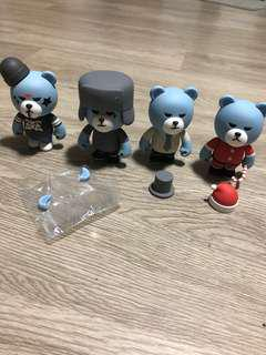 BIGBANG Krunk Art Toy Collection