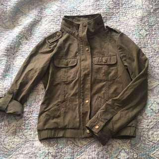 F21 Army Green Jacket