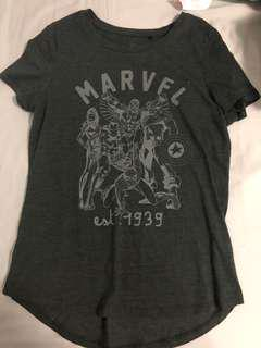 Grey Marvel Shirt