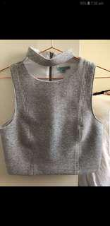 Kookai grey top