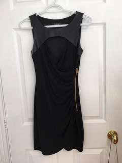 BLACK GUESS COCKTAIL DRESS