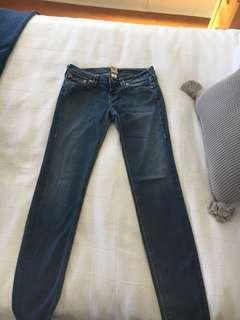 True religion denim jeans size 29