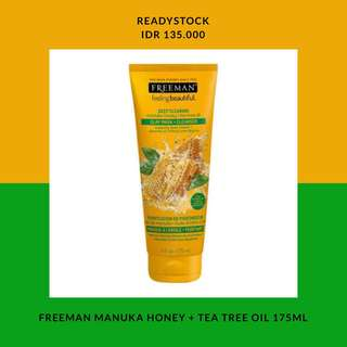 FREEMAN MANUKA HONEY + TEA TREE OIL 175ML