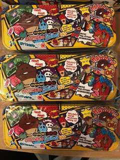 蘑菇雙層鐵筆盒$25/1