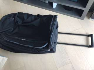 Delsey black duffel bag in very good condition - price reduced
