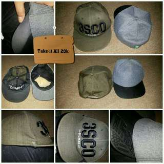 Take it All 2 Pieces Hats