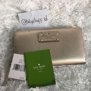 Dompet kate spade lil defect no box