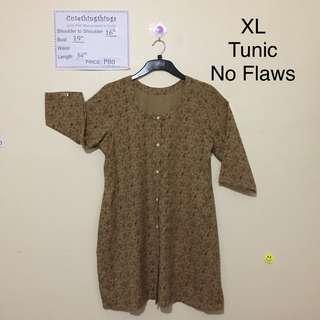 XL - Mustard Tunic