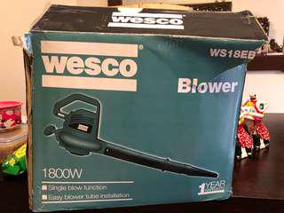 Electric blower corded