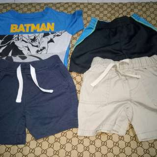 Take all Shorts&Top for him(Size 12-18M)