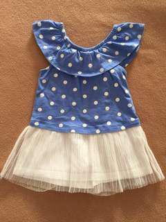 Gap off shoulder dress