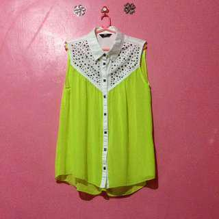 Neon Polo sleeveless