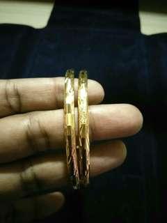 1gram Gold Plated Bangles