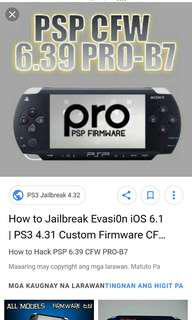 PSP JAILBREAK ANY FIRMWARE