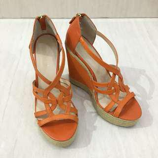 Like New Nine West Wedges (Authentic) (Sepatu Wanita)