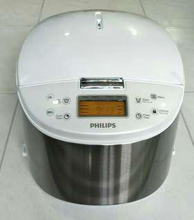 Brand New Philips Avance Collection Rice Cooker HD3077/03