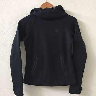 Nike Womens Black Tech Fleece Jacket with Hood