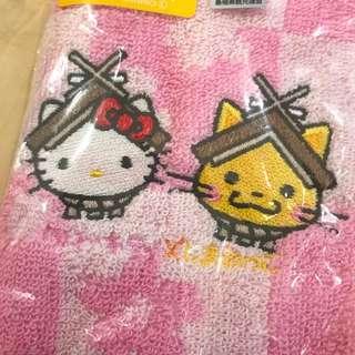 全新 絕版 Hello Kitty 毛巾/手巾