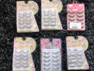 Hand made Japanese eyelashes