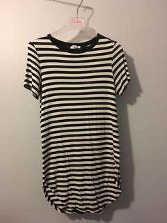 SWS Striped tshirt dress