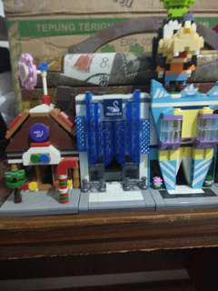 Sembo block lego take all ( 5 building 1 character)