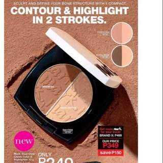 ON HAND MARK DUAL GLOW CHEEK COLOR AND HIGHLIGHTER