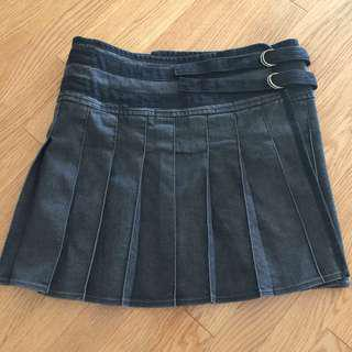 Burberry Wrap-Around Denim Skirt (size 6)