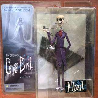 McFarlane Toys Corpse Bride Series 2 Albert Action Figure