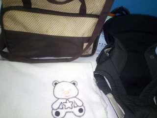 Bundle baby carrier baby blanket baby bag