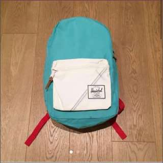 Herschel special edition turquoise red white backpack